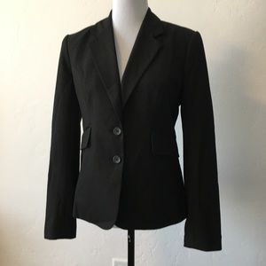 The Limited Black Two Button Blazer with pockets
